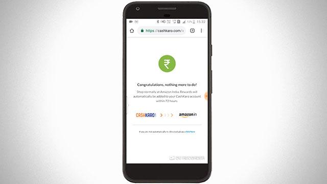 CK leading to Amazon