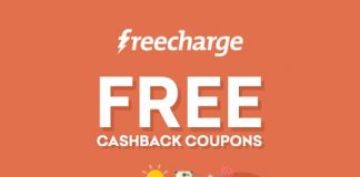 Freecharge Free Cashback Coupons
