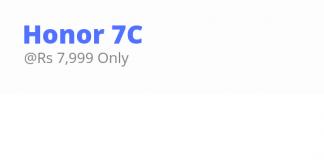 Honor 8C price