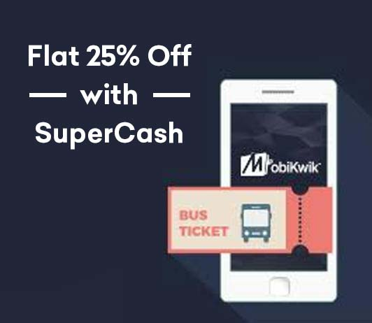 MobiKwik Bus Booking Offer