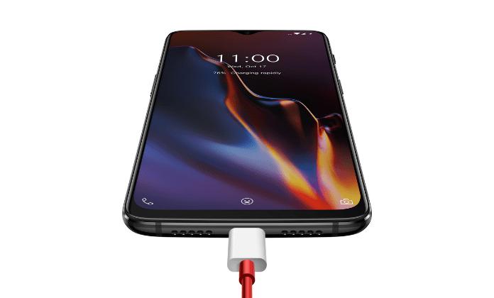 Oneplus 6T dash charging