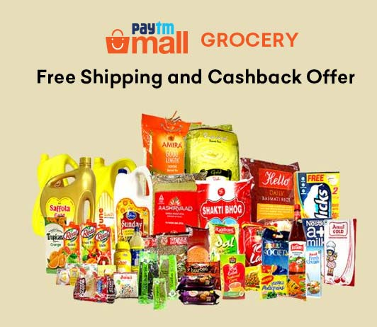 Paytm Mall Grocery Offers