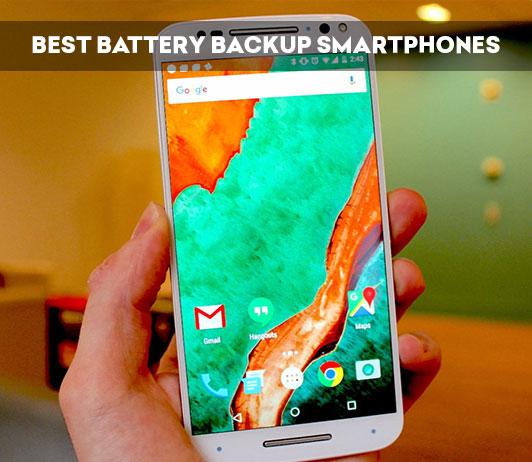 Best Battery Backup Smartphones