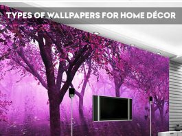 Types Of Wallpapers For Home Décor