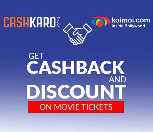 KoiMoi partners with Cashkaro: get discounts on movie tickets