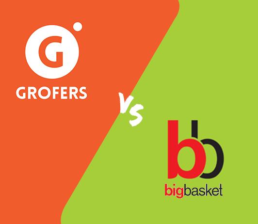 Grofers vs Bigbasket