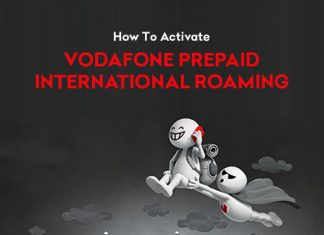 How To Activate Vodafone Prepaid International Roaming
