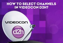 How To Select Channels In Videocon D2H?