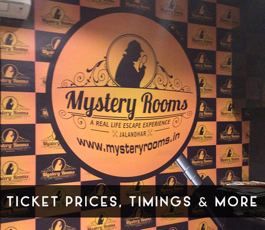 Mystery Rooms - Ticket Prices, Timings & More