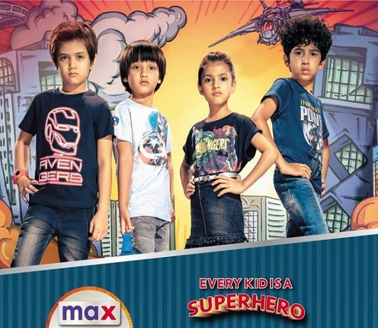 Max Fashion Partners With Marvel Avengers Endgame Movie