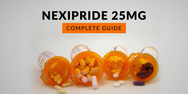 Nexipride 25MG: Uses, Dosage, Side Effects, Price, Composition & 20 FAQs