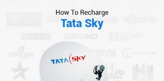 How To Recharge Tata Sky
