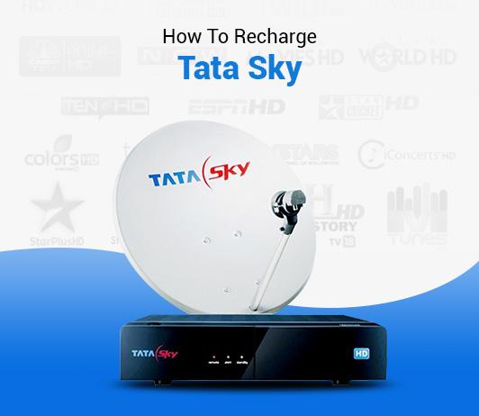 How To Recharge Tata Sky