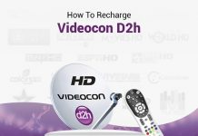 How To Recharge Videocon D2h