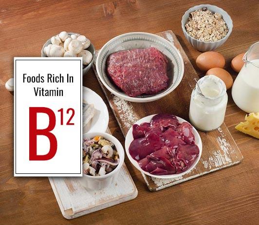 Foods Rich In Vitamin B12