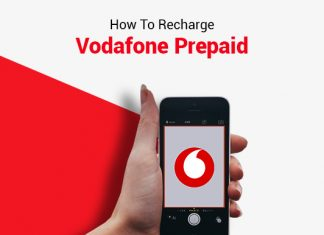 How To Recharge Vodafone Prepaid?