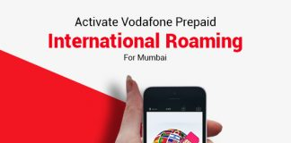 How To Activate Vodafone Prepaid International Roaming For Mumbai
