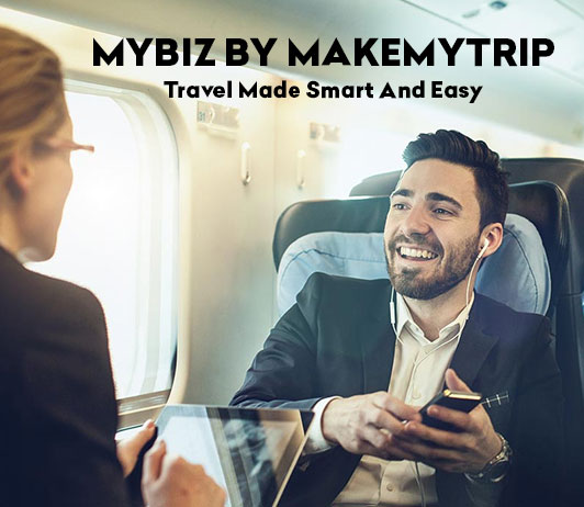 myBiz by MakeMyTrip: Travel Made Smart And Easy