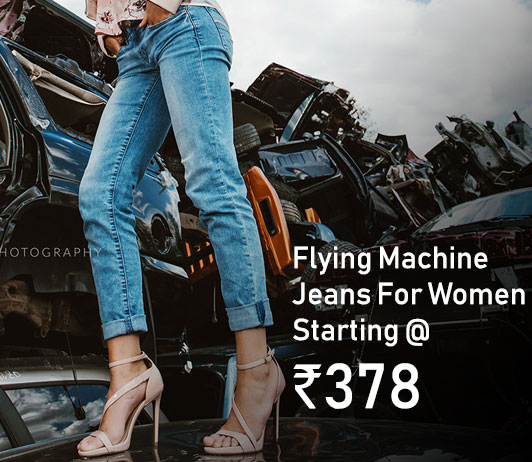 Flying Machine Jeans for women