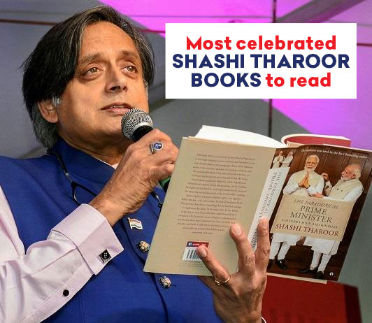 Most Celebrated Shashi Tharoor Books To Read
