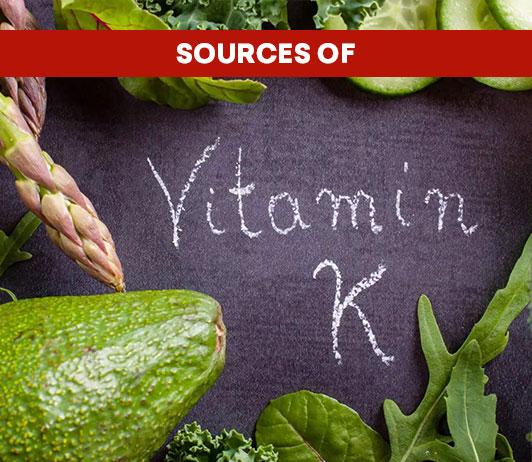 Sources of Vitamin K