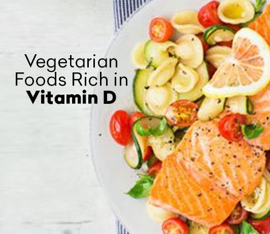 Vegetarian Foods Rich in Vitamin D