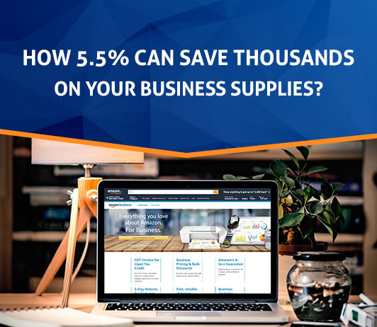 How 5.5% Can Save Thousands On Your Business Supplies?