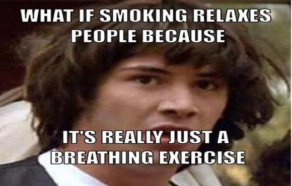 quit smoking meme