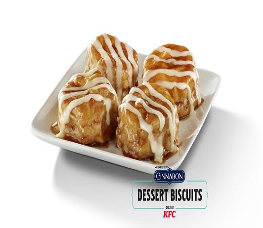 Cinnabon Teams Up With KFC To Serve Mother's Day Dessert Biscuits