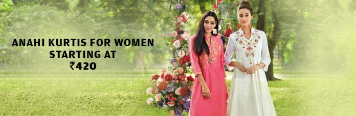 Anahi Kurtis For Women Starting At Rs.420