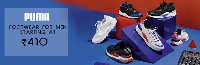 Puma Footwear for Men Starting At ₹410