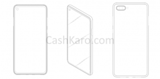 Samsung's Punch Hole Front Camera Patents with a Horizontal Dual-Rear Setup