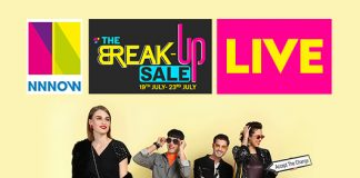 NNNOW Break-Up Sale