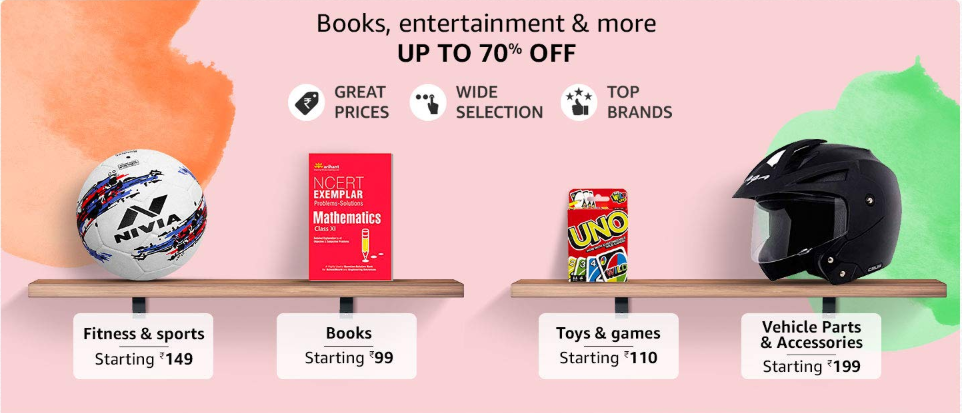 Amazon Books & Entertainment