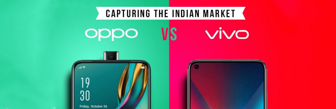 Two Chinese Smartphone Makers in the Race for Capturing the Indian Market: Oppo & Vivo