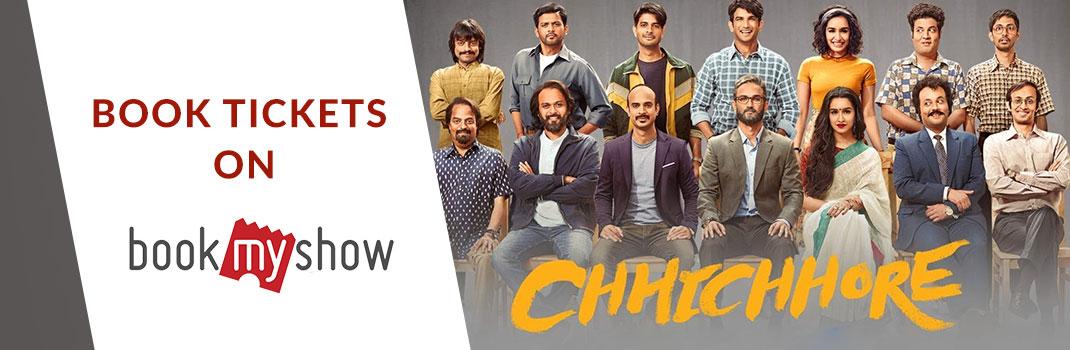 Chhichhore BookMyShow