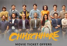 Chhichhore Movie Offers