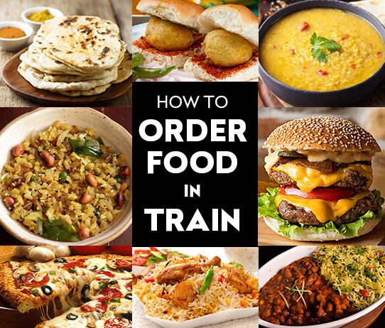 How to Order Food in Train