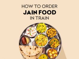 How to Order Jain Food in Train