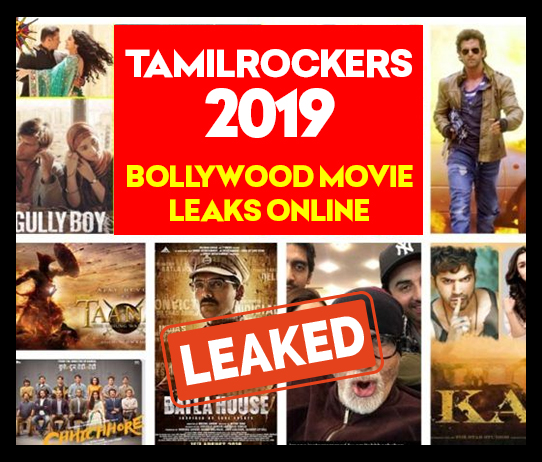 TamilRockers Bollywood Movies Leaked
