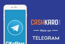 CashKaro on Telegram