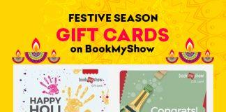 Festive Season Gift Cards on Bookmyshow