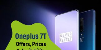 One plus 7T Launch Offers, prices and availability
