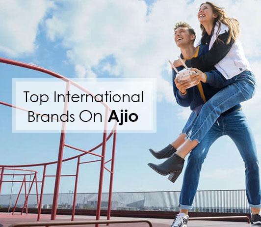 top international brands on ajio