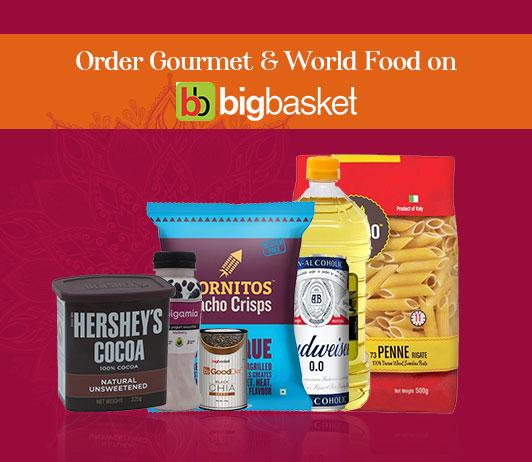 bigbasket coupon code for gourmet food