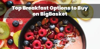 Best breakfast options to buy from bigbasket