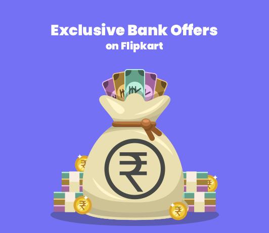 Exclusive bank offers on Flipkart