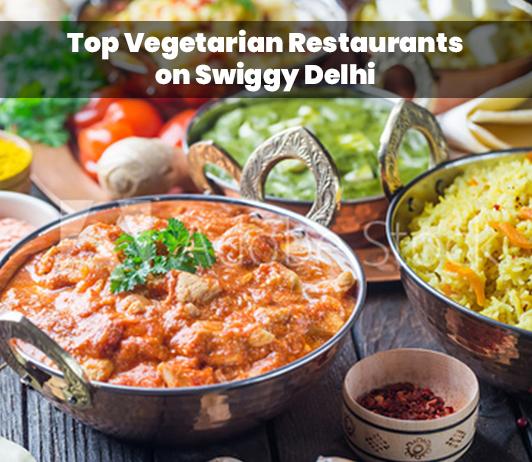 Top vegetarian restaurants on Swiggy