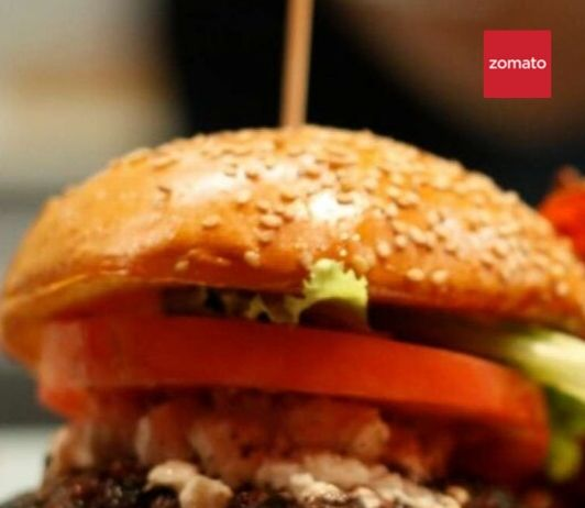 zomato promo code today for burger places