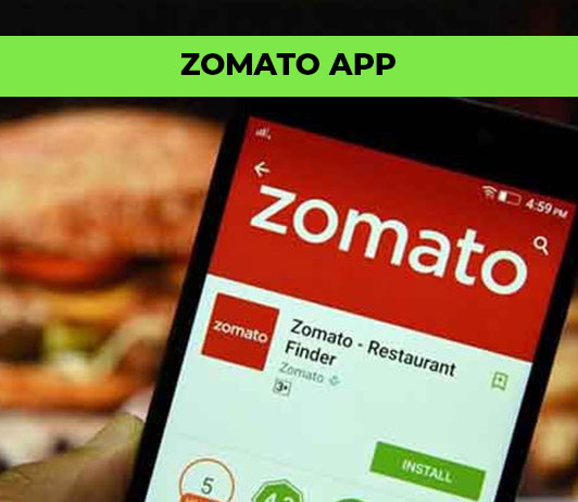 zomato app features